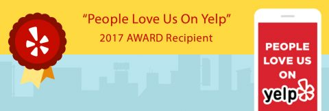 People Love Us On Yelp 2017 Award Recipient Banner
