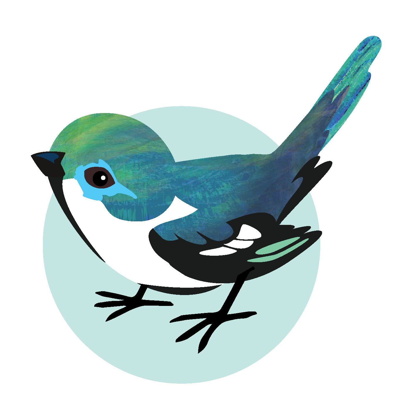 Songbird Studios Logo Bird Only Transparent 300p