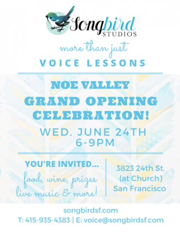 Noe Grand Opening Front