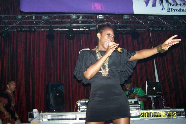 KJ Rose Performing
