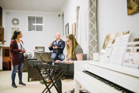Dave Stroud Working with Songbird Studios