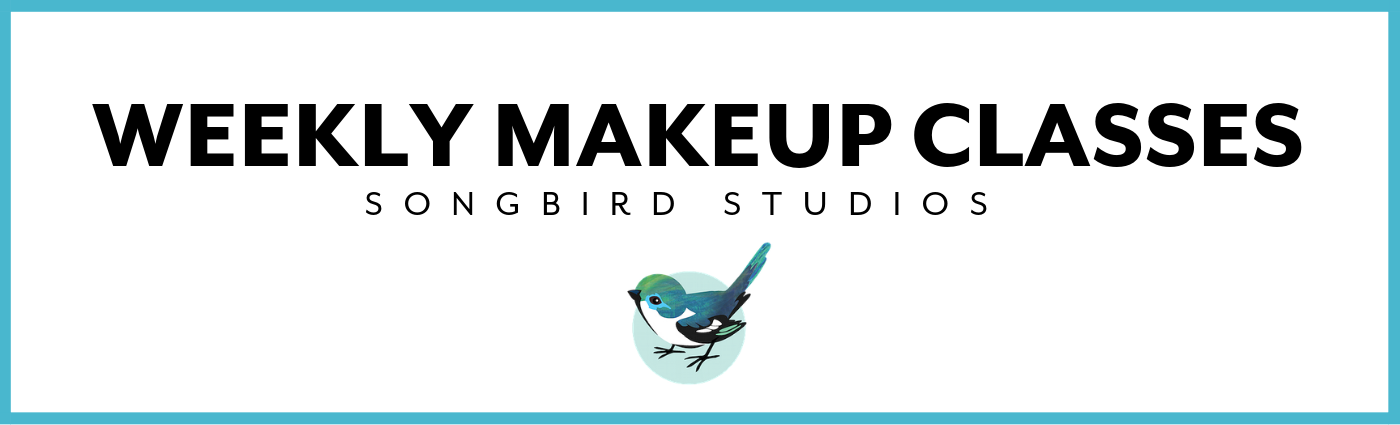 Songbird Studios Weekly Makeup Classes