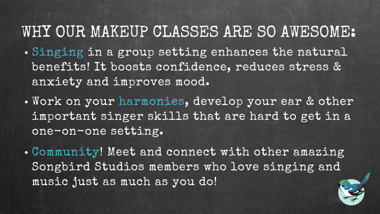 About our Weekly Makeup Classes